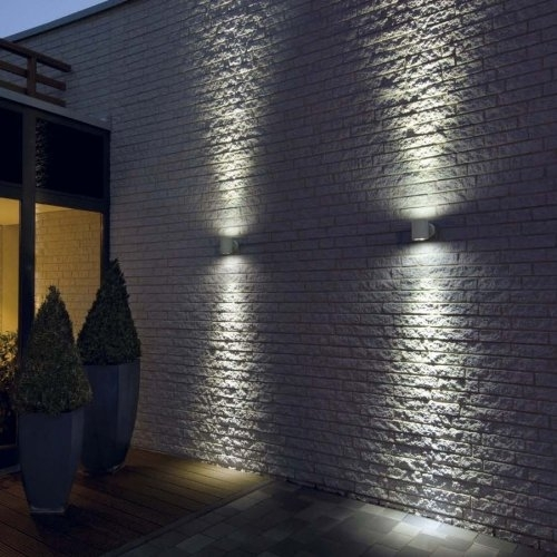Modern Outdoor Wall Lighting | Design Furniture | Backyard Landscape inside Outside Wall Lighting (Image 9 of 10)