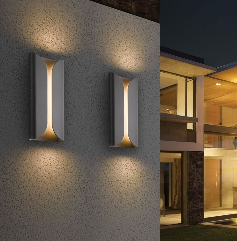 Modern Outdoor Wall Lights Uk — Bistrodre Porch And Landscape Ideas regarding Contemporary Outdoor Wall Lights (Image 6 of 10)