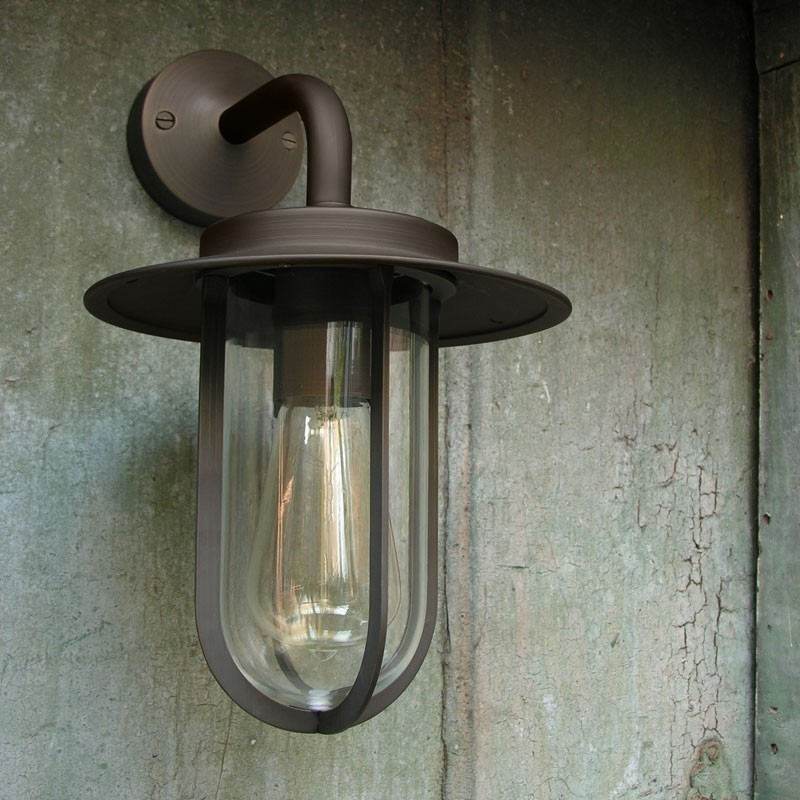 Montparnasse Wall Lantern - Bronze - Lighting Direct throughout Bronze Outdoor Wall Lights (Image 7 of 10)
