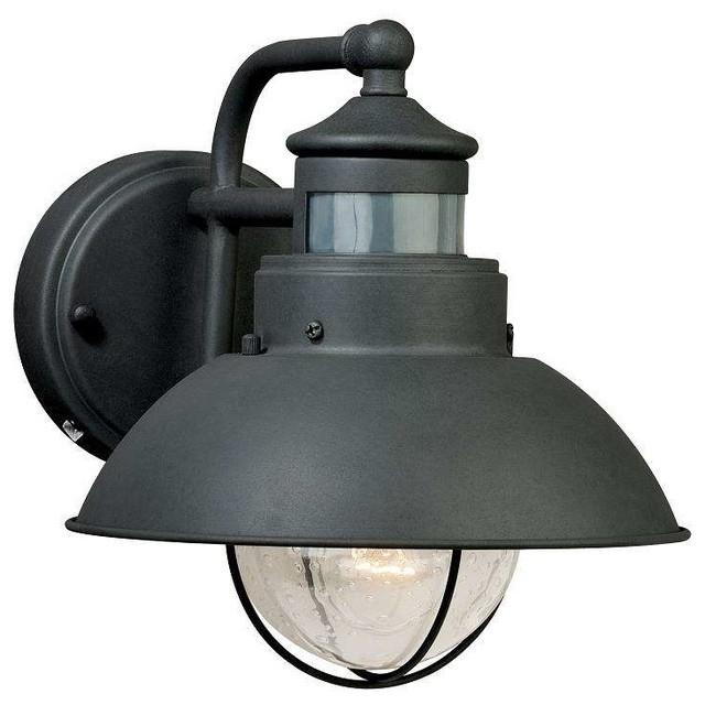 Motion Sensor Light Outdoor Outdoor Lights | Houzz Throughout Motion throughout Outdoor Wall Security Lights (Image 4 of 10)