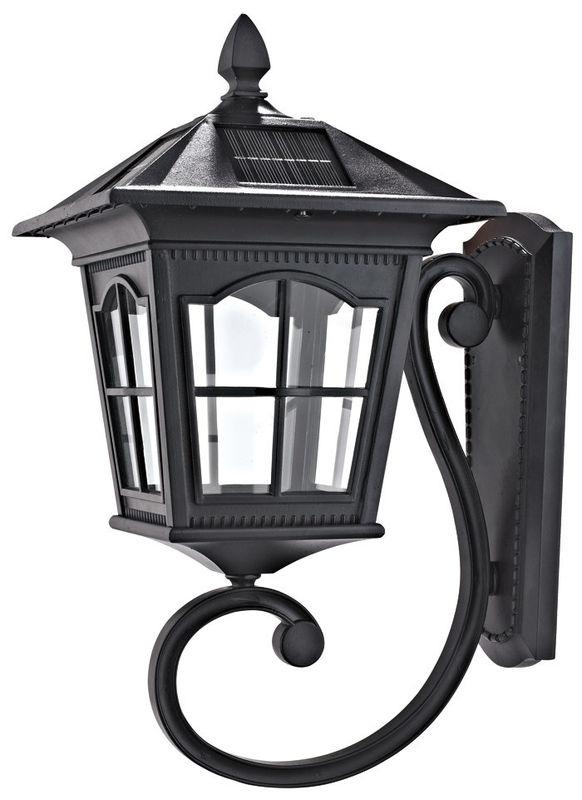 Motion-Sensor-Outdoor-Light-Solar-220V-Wall-Light-Black-Exterior inside Solar Outdoor Wall Light Fixtures (Image 4 of 10)
