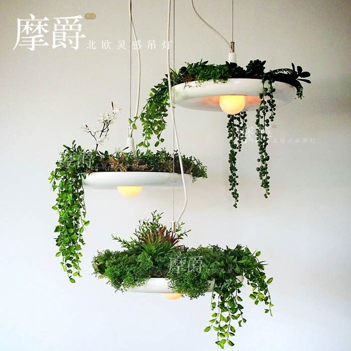 Mount Jazz Ikea Pastoral Hanging Gardens Of Babylon Pots Potted throughout Ikea Outdoor Hanging Lights (Image 10 of 10)