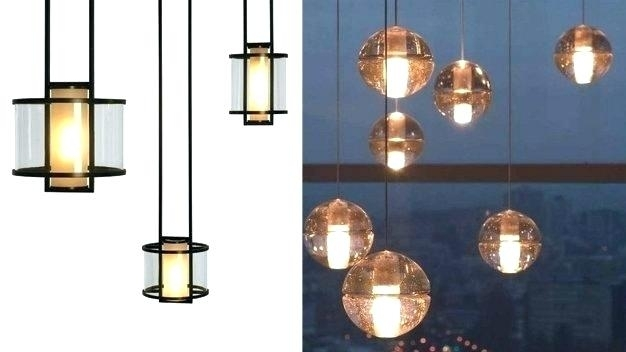 New Modern Outdoor Pendant Lighting Hanging Lantern Lights inside Outdoor Hanging Glass Lights (Image 4 of 10)