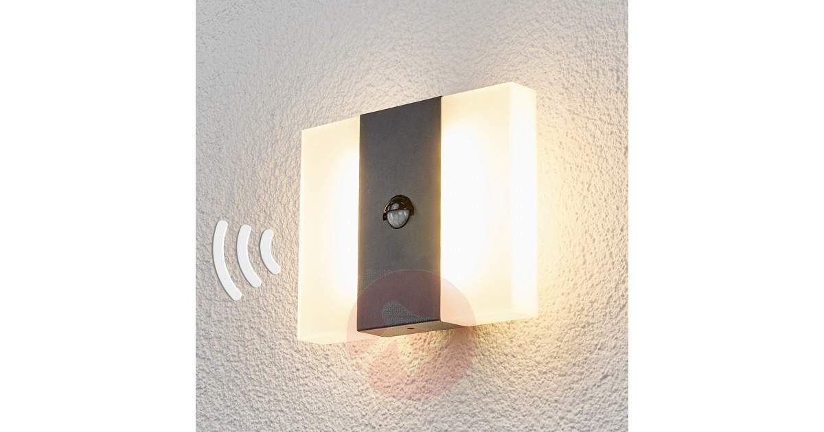 New Motion Sensor Outdoor Wall Light — Home Ideas Collection With Regard To Outdoor Wall Lighting With Motion Sensor (Photo 9 of 10)