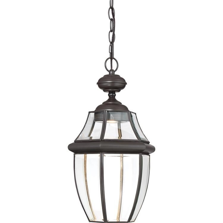 Newbury Clear Led Outdoor Lantern | Products | Pinterest | Products Within Quoizel Outdoor Hanging Lights (Photo 7 of 10)