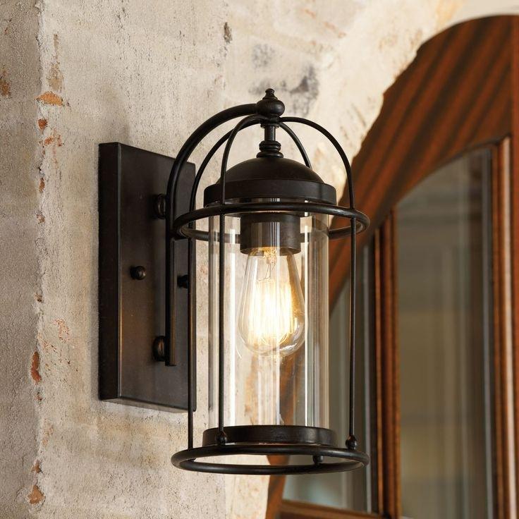 Nice Big Outdoor Light Fixtures 17 Best Ideas About Outdoor Wall Within Big Outdoor Wall Lighting (Photo 1 of 10)