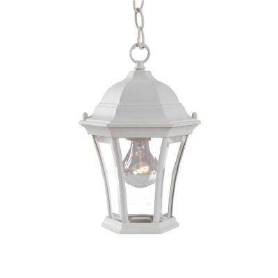 No Additional Accessories   White   Outdoor Hanging Lights   Outdoor Pertaining To White Outdoor Hanging Lights (Photo 6 of 10)