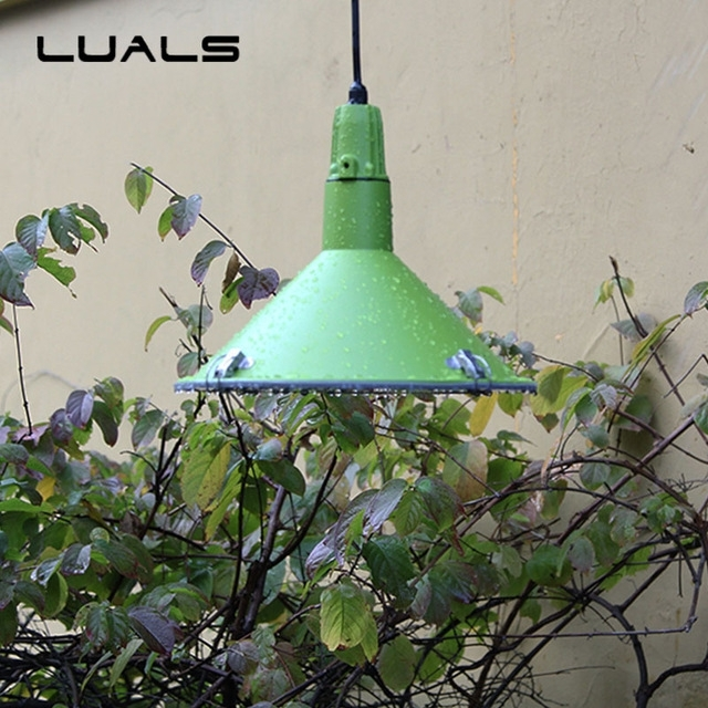 Nordic Pendant Light Waterproof Outdoor Pendant Lights Art Deco with Outdoor Waterproof Hanging Lights (Image 4 of 10)