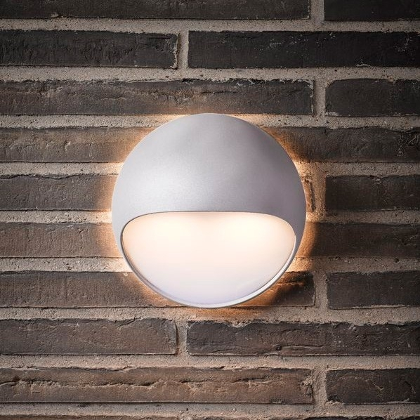 Nordlux Fuel Led Outdoor Wall Light - White pertaining to White Led Outdoor Wall Lights (Image 8 of 10)