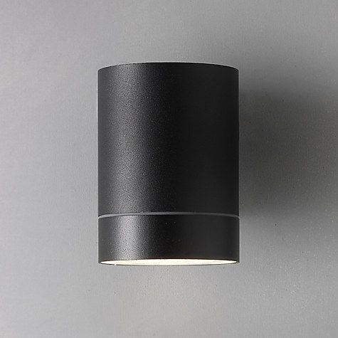 Nordlux Tin Maxi Outdoor Wall Light, Black | Outdoor Walls, John with regard to Outdoor Wall Lights At John Lewis (Image 4 of 10)