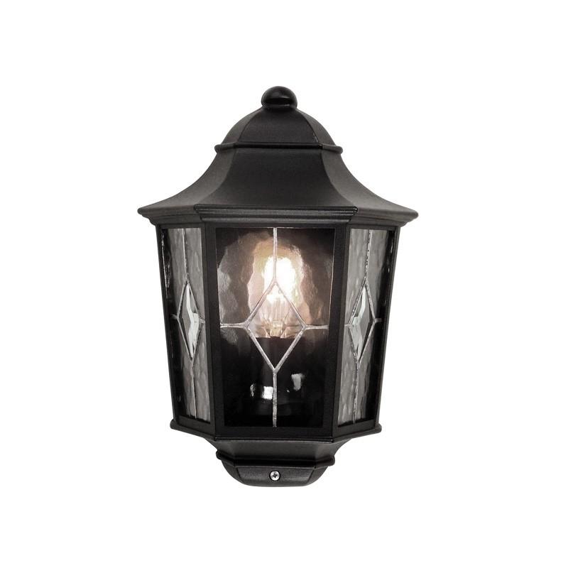 Norfolk Large Half Lantern – Lighting Direct With Regard To Half Lantern Outside Wall Lights (View 2 of 10)