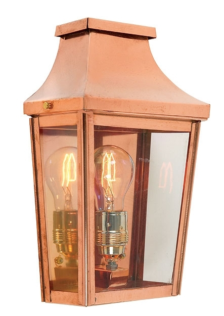 Norlys Chelsea Handmade Copper Outdoor Wall Lantern 25Yr Guarantee regarding Copper Outdoor Wall Lighting (Image 7 of 10)