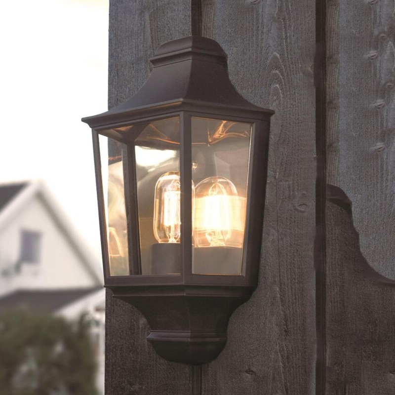 Featured Photo of Half Lantern Outside Wall Lights