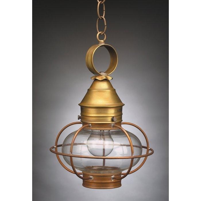 Northeast Lantern Onion 1 Light Outdoor Hanging Lantern & Reviews Inside Hanging Outdoor Onion Lights (Photo 10 of 10)