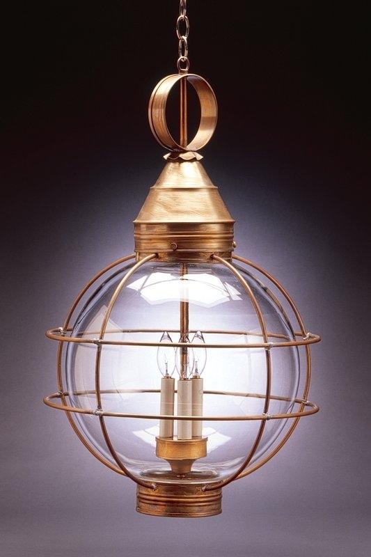 Northeast Lantern Onion 3 Light Outdoor Hanging Lantern & Reviews Regarding Hanging Outdoor Onion Lights (Photo 7 of 10)