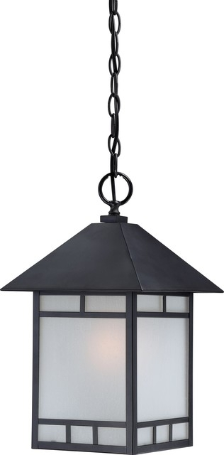 Nuvo   1 Light Outdoor Hanging Fixture, Stone Black & Reviews | Houzz Intended For Houzz Outdoor Hanging Lights (Photo 10 of 10)
