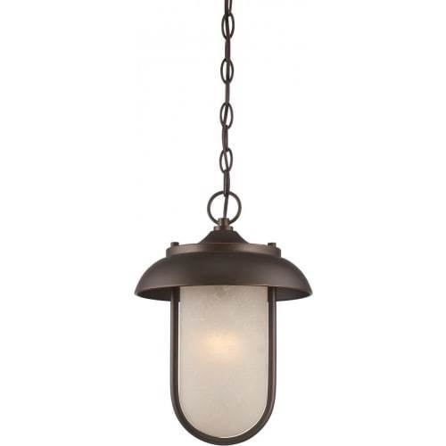 Nuvo Lighting 62/675 Tulsa Led 10 Inch Mahogany Bronze Outdoor inside Outdoor Hanging Lights At Ebay (Image 5 of 10)