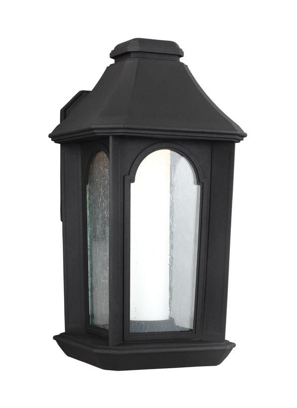 Ol11501Txb-Led,1 - Light Outdoor Led Wall Lantern,textured Black inside Outdoor Wall Lighting Sets (Image 5 of 10)