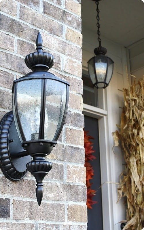 Outdoor Carriage Lights Exterior Lighting With Modern Stylish Inside Outdoor Hanging Carriage Lights (View 6 of 10)
