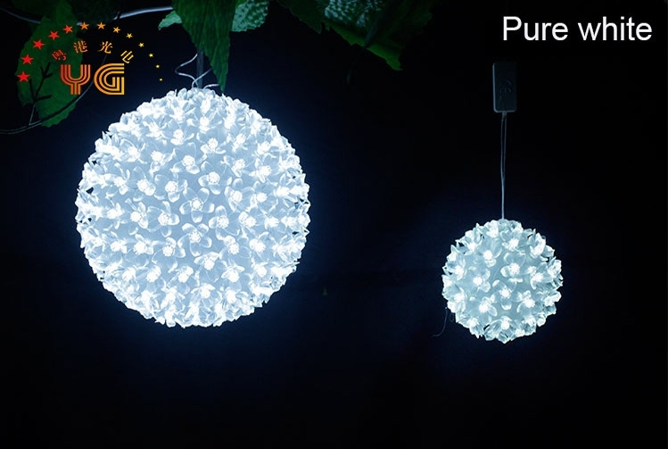 Featured Photo of Outdoor Hanging Christmas Light Balls