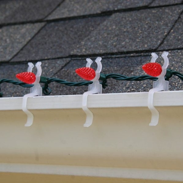 Outdoor Christmas Light Hangers For Gutters #42185 | Astonbkk intended for Hanging Outdoor Christmas Lights Hooks (Image 7 of 10)