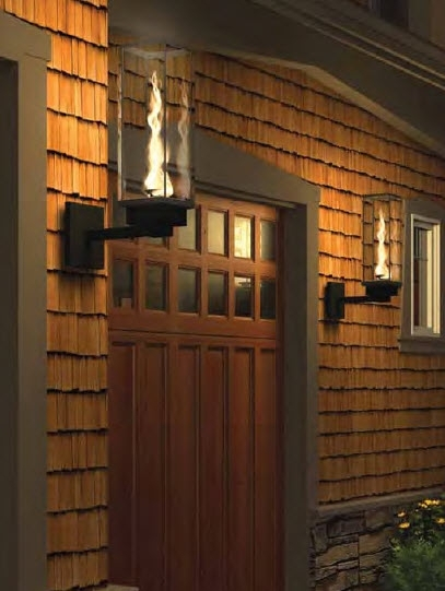 Outdoor Gas Lights & Torches Products : St Louis within Outdoor Wall Mount Gas Lights (Image 8 of 10)