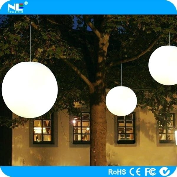 Outdoor Globe Pendant Light B Outdoor Hanging Globe String Lights for Outdoor Hanging Globe Lights (Image 5 of 10)