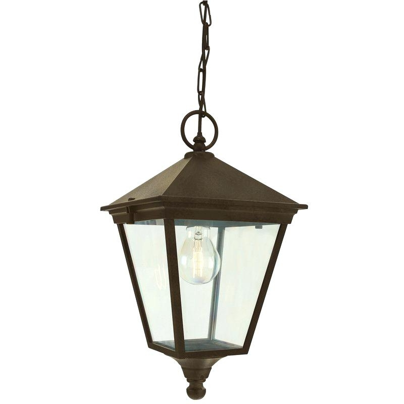 Outdoor Hanging Lamp Barrow 1 Light Outdoor Hanging Lantern Outdoor regarding Outdoor Hanging Lamps Online (Image 6 of 10)