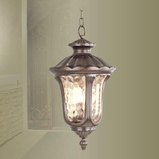 Outdoor Hanging Light Fixtures | Oxford - 1 Light Large Outdoor within Outdoor Hanging Pendant Lights (Image 6 of 10)