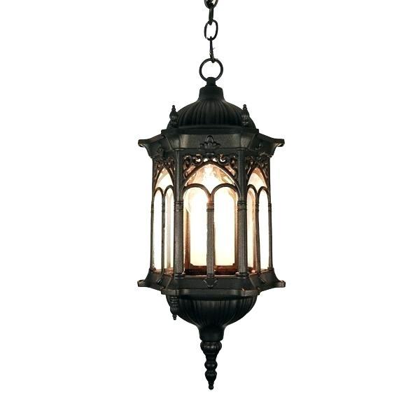 Outdoor Hanging Lighting Fixtures Ing Pendant Light Popular 19 with regard to Outdoor Hanging Lantern Lights (Image 7 of 10)