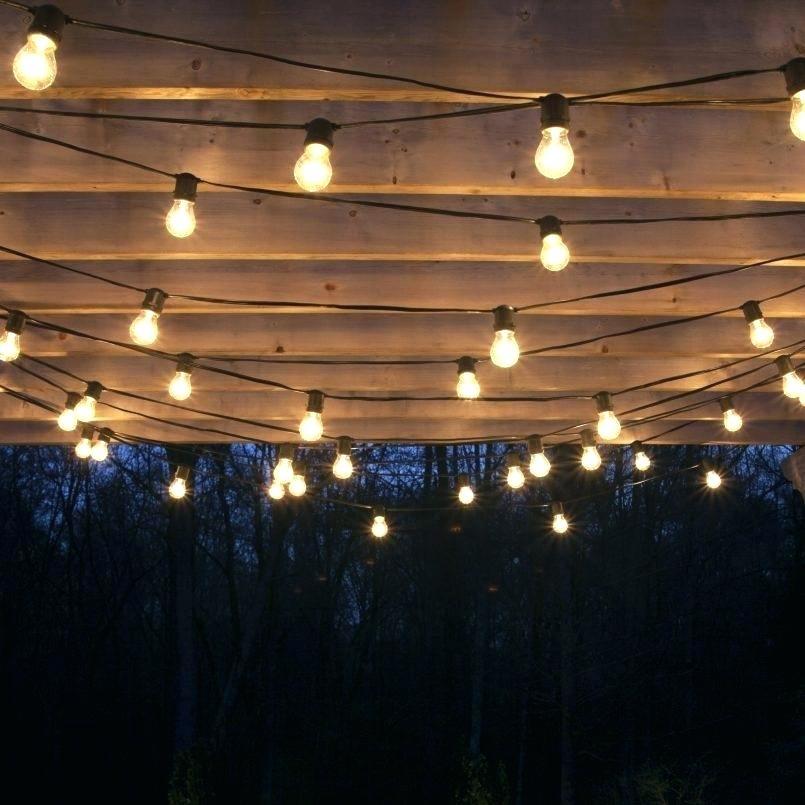 Outdoor Hanging Lights Garden Hanging Lights Garden Design With The inside Outdoor Hanging Lights (Image 3 of 10)