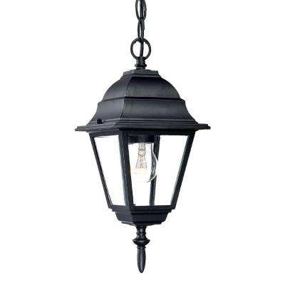 Outdoor Hanging Lights – Outdoor Ceiling Lighting – The Home Depot Throughout Outdoor Hanging Coach Lanterns (View 7 of 10)