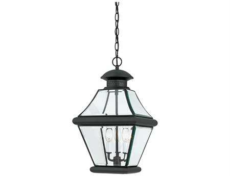Outdoor Hanging Lights & Outdoor Hanging Light Fixtures intended for Outdoor Hanging Light in Black (Image 8 of 10)