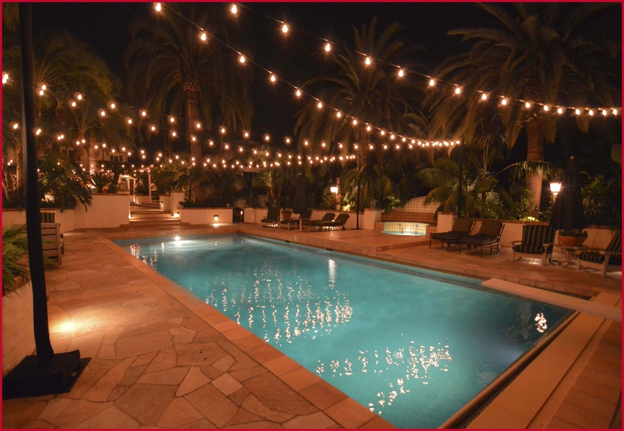 Outdoor Hanging Lights String » Fresh Pool Outdoor String Lights inside Outdoor Hanging Pool Lights (Image 6 of 10)