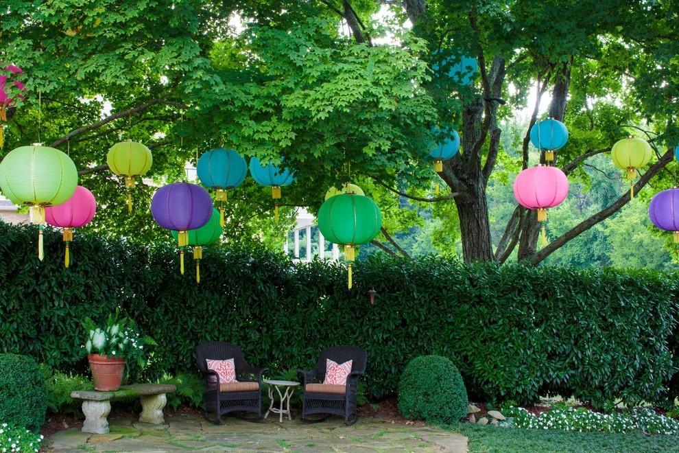 Outdoor Hanging Paper Lantern Lights – Outdoor Designs Throughout Outdoor Hanging Nylon Lanterns (View 8 of 10)