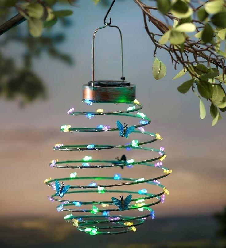 Outdoor Hanging Solar Garden Lights Solar Lanterns For Garden with regard to Outdoor Hanging Garden Lights (Image 6 of 10)