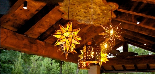 Outdoor Lanterns: Some Popular Styles « Bombay Outdoors in Outdoor Hanging Star Lanterns (Image 7 of 10)