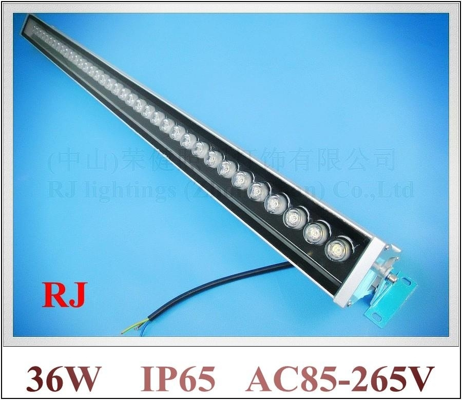 Outdoor Led Wall Washer Rgb And Monochrome 36W Wash Wall Led Lamp throughout Outdoor Wall Flood Lights (Image 4 of 10)