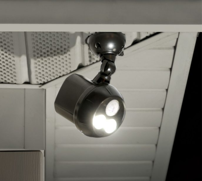 Outdoor Lighting: Amazing Wireless Landscape Lighting Wireless inside Hanging Outdoor Flood Lights (Image 8 of 10)