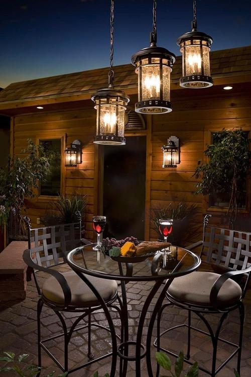 Outdoor Lighting: Amusing Outdoor Hanging Lights Patio How To Hang in Hanging Outdoor Lights on Stucco (Image 9 of 10)