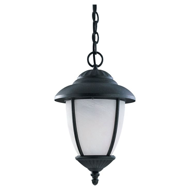 Outdoor Lighting: Astonishing Hanging Motion Sensor Light Led for Motion Sensor Outdoor Hanging Lights (Image 9 of 10)