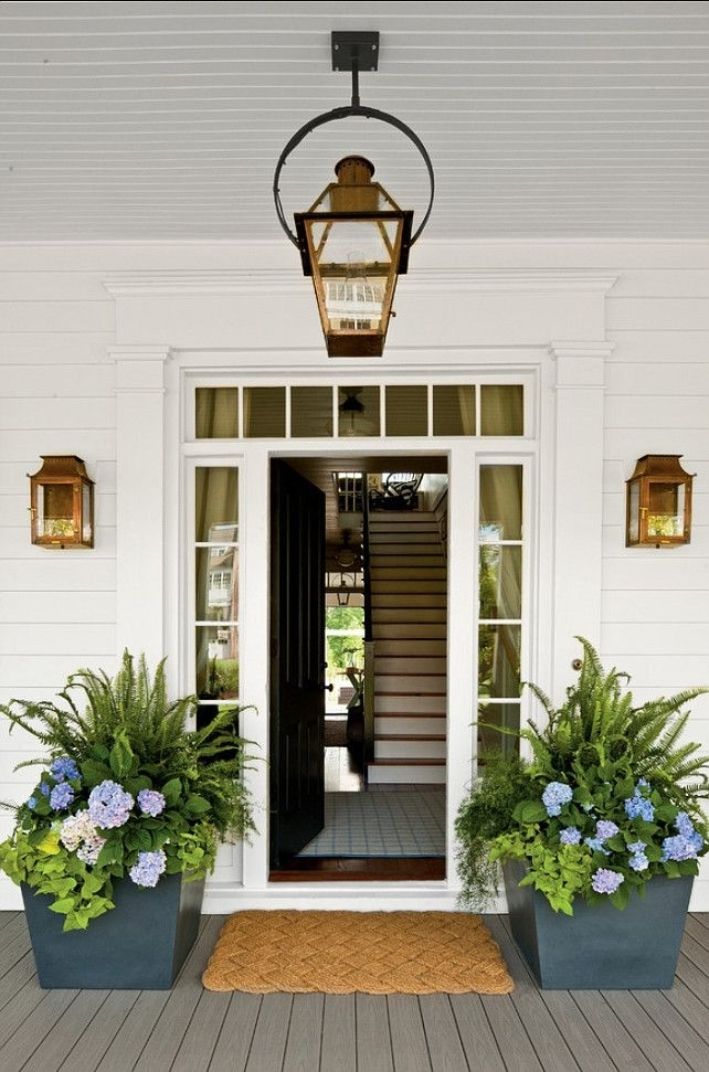 Outdoor Lighting: Extraordinary Modern Front Door Lights Modern for Front Door Outdoor Hanging Lights (Image 8 of 10)