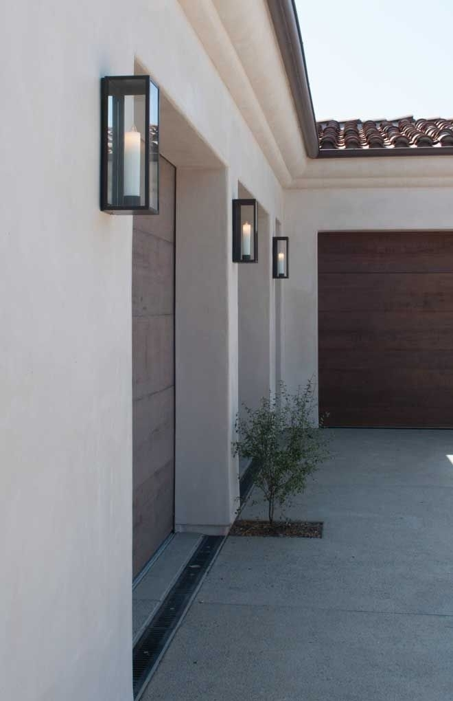 Outdoor Lighting. Extraordinary Outdoor Garage Light Fixtures pertaining to Outdoor Wall Garage Lights (Image 7 of 10)