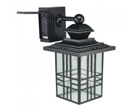 Outdoor - Lighting Fixtures - Lighting | L'image Home Products regarding Outdoor Wall Lights With Gfci Outlet (Image 4 of 10)