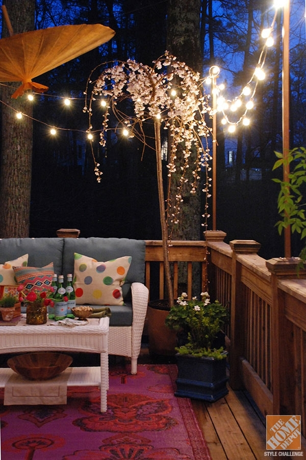 Outdoor Lighting Ideas For Your Backyard in Outdoor Hanging Deck Lights (Image 9 of 10)
