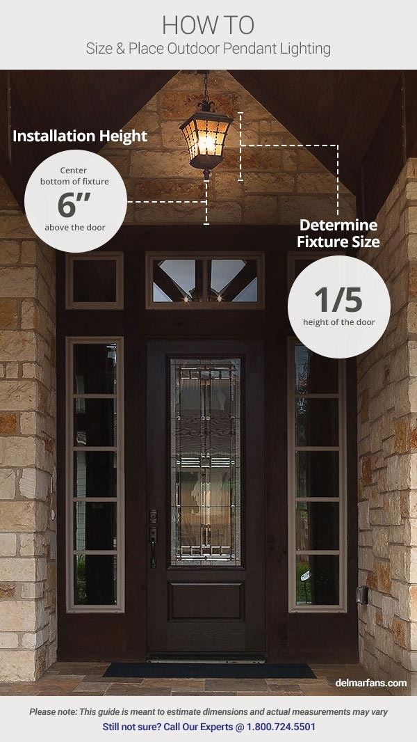 Outdoor Lighting Ideas & Tips: Add Curb Appeal With Front Door within Outdoor Entryway Hanging Lights (Image 10 of 10)