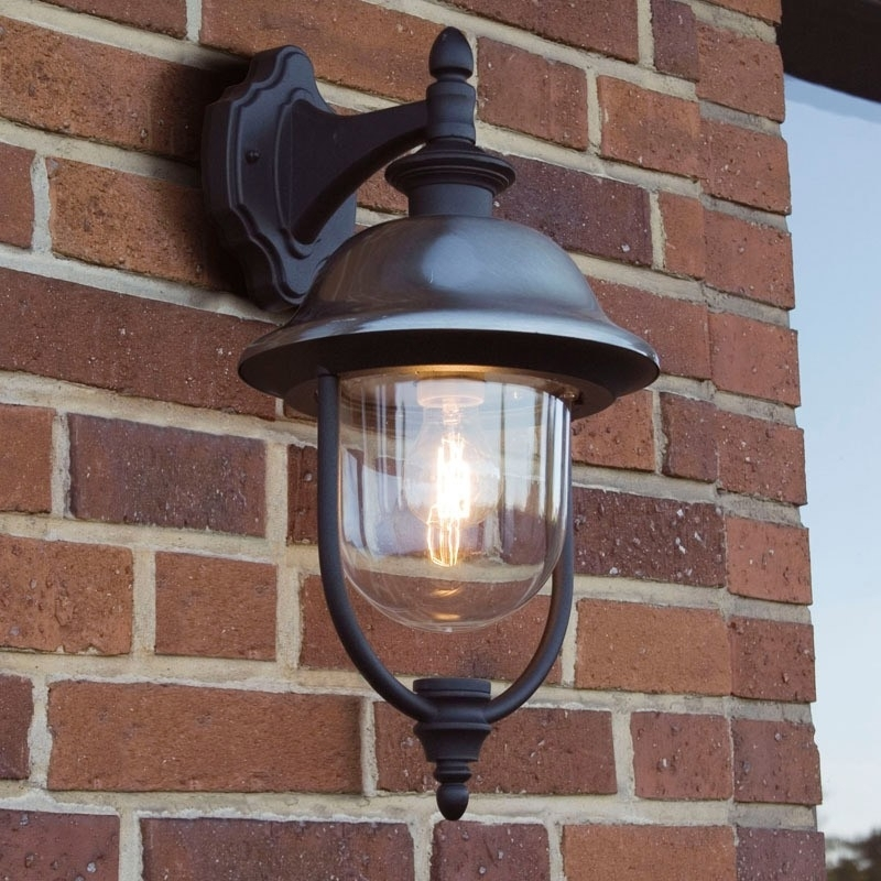 Outdoor Lighting: Inspiring Solar Porch Light Solar Powered Wall with Outdoor Hanging Wall Lanterns (Image 7 of 10)