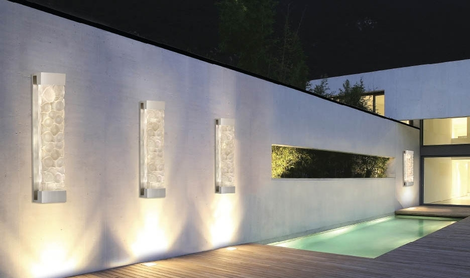 Outdoor Lighting: Trendy Outdoor Lighting 2018 Collection Solar Wall inside Outdoor Wall Post Lights (Image 8 of 10)