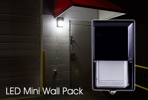 Outdoor Mini Low Watt Wallpack Light - Outdoor Lighting | Commercial with regard to Outdoor Wall Pack Lighting (Image 9 of 10)