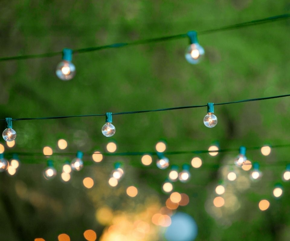 Outdoor Party String Lights within Hanging Outdoor Lights For A Party (Image 9 of 10)